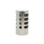 """Game Changer"" Compensator  for Mark III 22/45 and SR22 by TANDEMKROSS (Silver)"