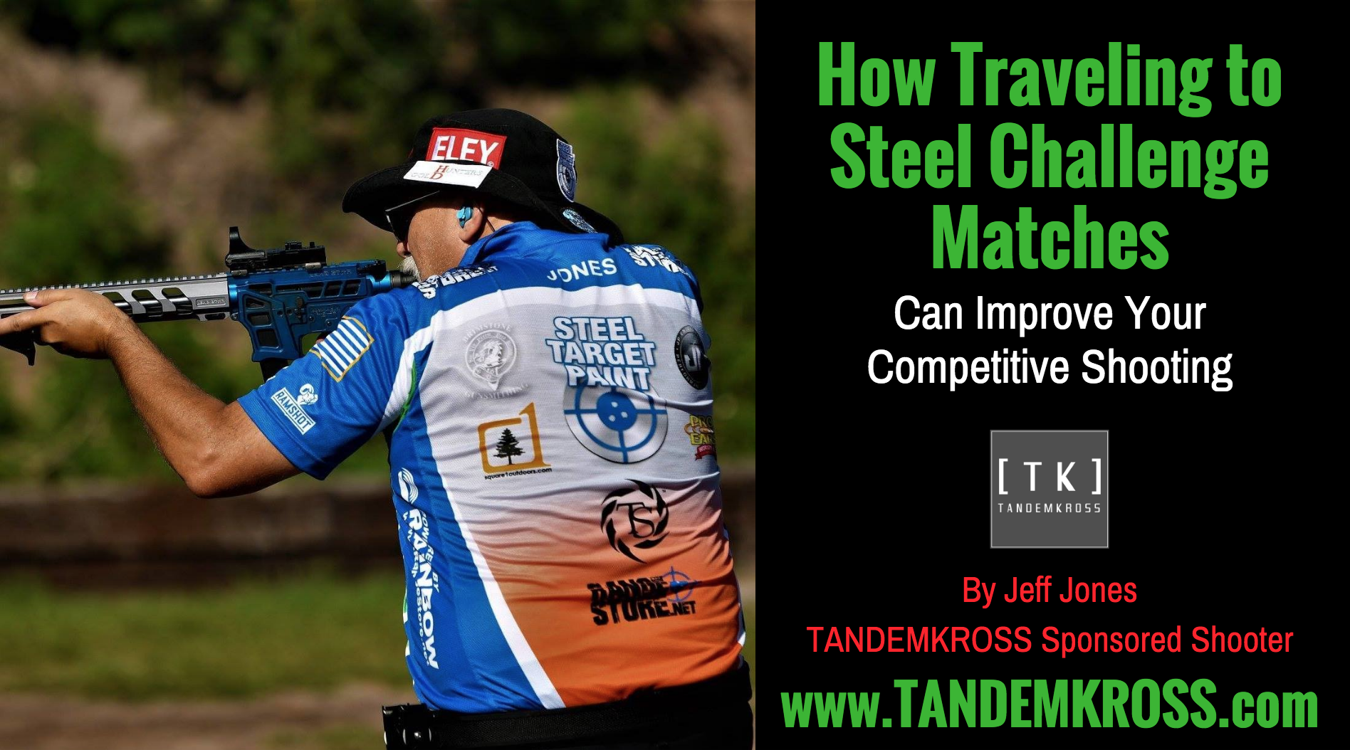 How Traveling to Steel Challenge Matches Can Improve Your Shooting