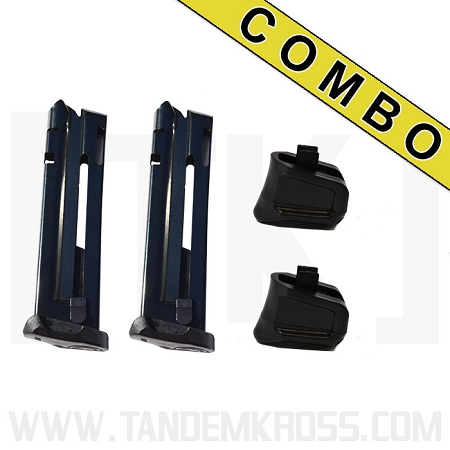 "Ruger(R) SR22(R) Magazine and ""Wingman"" +5 Bumper Combo"