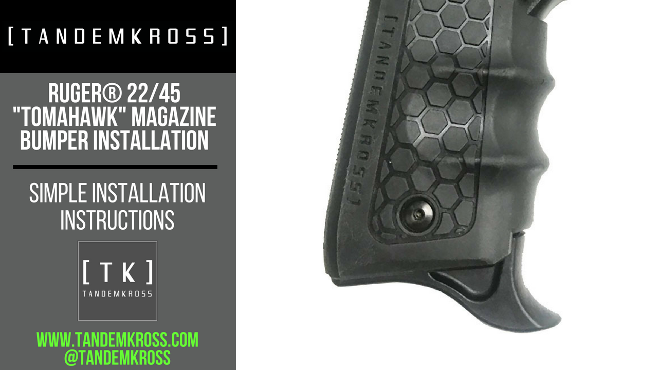 TANDEMKROSS Launches New Hooked Magazine Bumpers for Ruger® MKIV 22/45