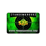 TANDEMKROSS Gift card $100, $50 or $25