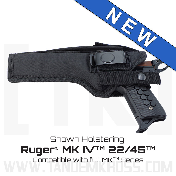 """SideSwitch"" Nylon Holster for the Ruger(R) MK Series thumbnail"