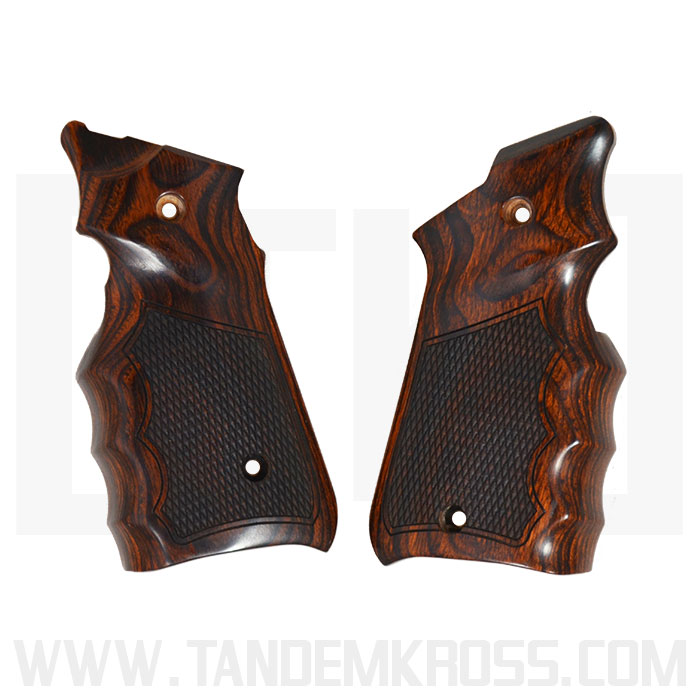 Altamont Co. Ruger(R) MKIV(TM) Grips - Finger Groove Checkered - Super Rosewood thumbnail