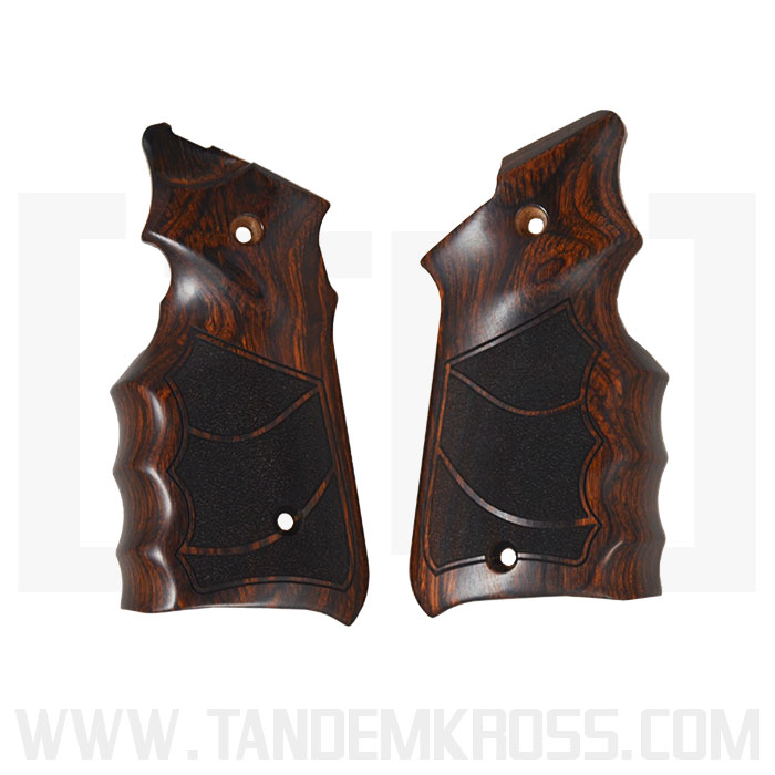 Altamont Co. Ruger(R) MKIV(TM) Grips - Finger Groove Stippled - Super Rosewood thumbnail