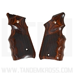 Altamont Co. Ruger® MKIV™ Grips - Finger Groove Checkered - Super Rosewood