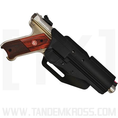 Mark ii gt blackdog ruger mk series red dot scoped holster low ride