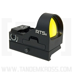 C-MORE Systems RTS2R Mini Red Dot Sight with Rail - Model No. RTS2RB-6