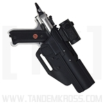 BlackDog Red Dot / Scoped Holster HIGH RIDE for MK Series & SW22 Victory