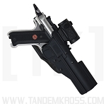 BlackDog Red Dot / Scoped Holster LOW RIDE for Ruger® MK Series and SW22® Victory™