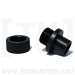 SR22 Thread adapter for 1/2X28 thread