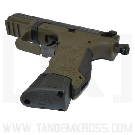 """""""Wingman"""" +5 Magazine Bumper for Walther(R) P22 (2-PACK)"""