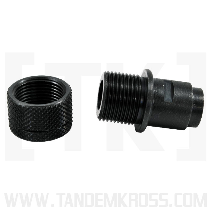 Thread adaptor for walther p
