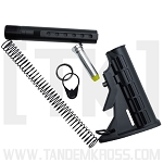 Collapsible Buttstock and Buffer Tube for AR-15 by Rim/Edge