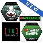 TANDEMKROSS Vinyl Stickers