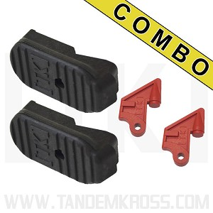 Ruger® MKIV™ 22/45™ MAXIMUS Plus1 CHOOSE BETWEEN MARKPRO 22/45 OR TOMAHAWK BUMPERS -- MARCH COMBO