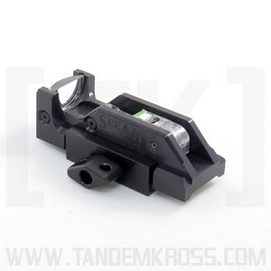 See All Sights - Rail Mounted MK2  Non-Tritium Open Sight