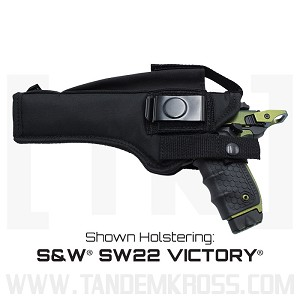"""Side Switch"" Nylon Holster for the S&W® SW22 VICTORY®"