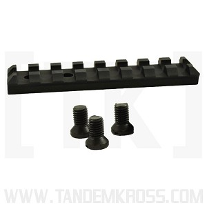 """Shadow"" Picatinny Rail for Ruger Mark Series and 22/45 - BLACK"