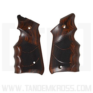 Altamont Co. Ruger® MKIV Grips - Finger Groove Stippled - Super Rosewood