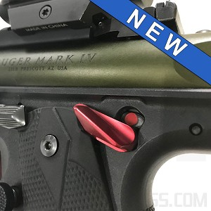 """Cornerstone"" Safety Thumb Ledge for Ruger® MKIV™ 22/45™"