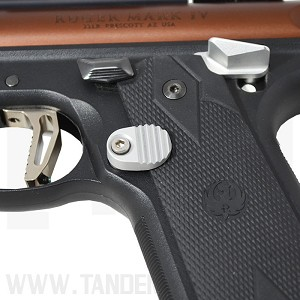 """Titan"" Extended Magazine Release for Ruger® MKIV 22/45"