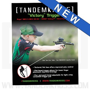 "16""x20"" Poster - ""Victory"" Trigger for Ruger® MK Series, SW22® Victory™ and Browning Buck Mark"